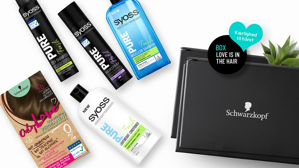 Love is in the hair Box fra Schwarzkopf & SYOSS