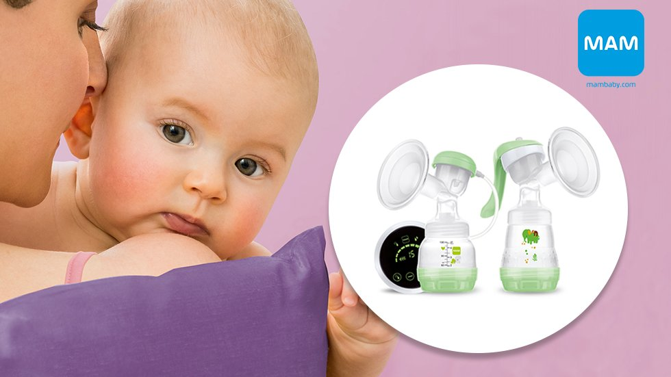 MAM 2in1 Electric   Manual Breast Pump • Testes nu • Smartson eb5c25f7b7d51